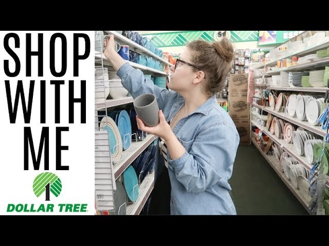 DOLLAR TREE | SHOP WITH ME & HAUL