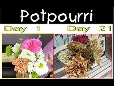 Easiest Way to Potpourri a Bouquet Flowers