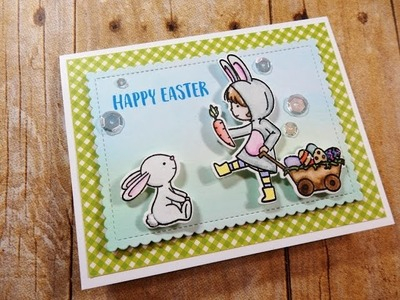Easter Card Mini Series | Not2Shabby Shop | Neat & Tangled Cottontail Cuties | Card 1 of 3