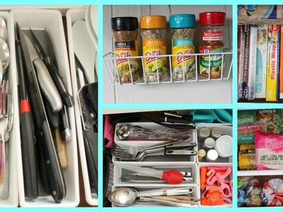 Easy Dollar Store Kitchen Organization Ideas! (PART 2)