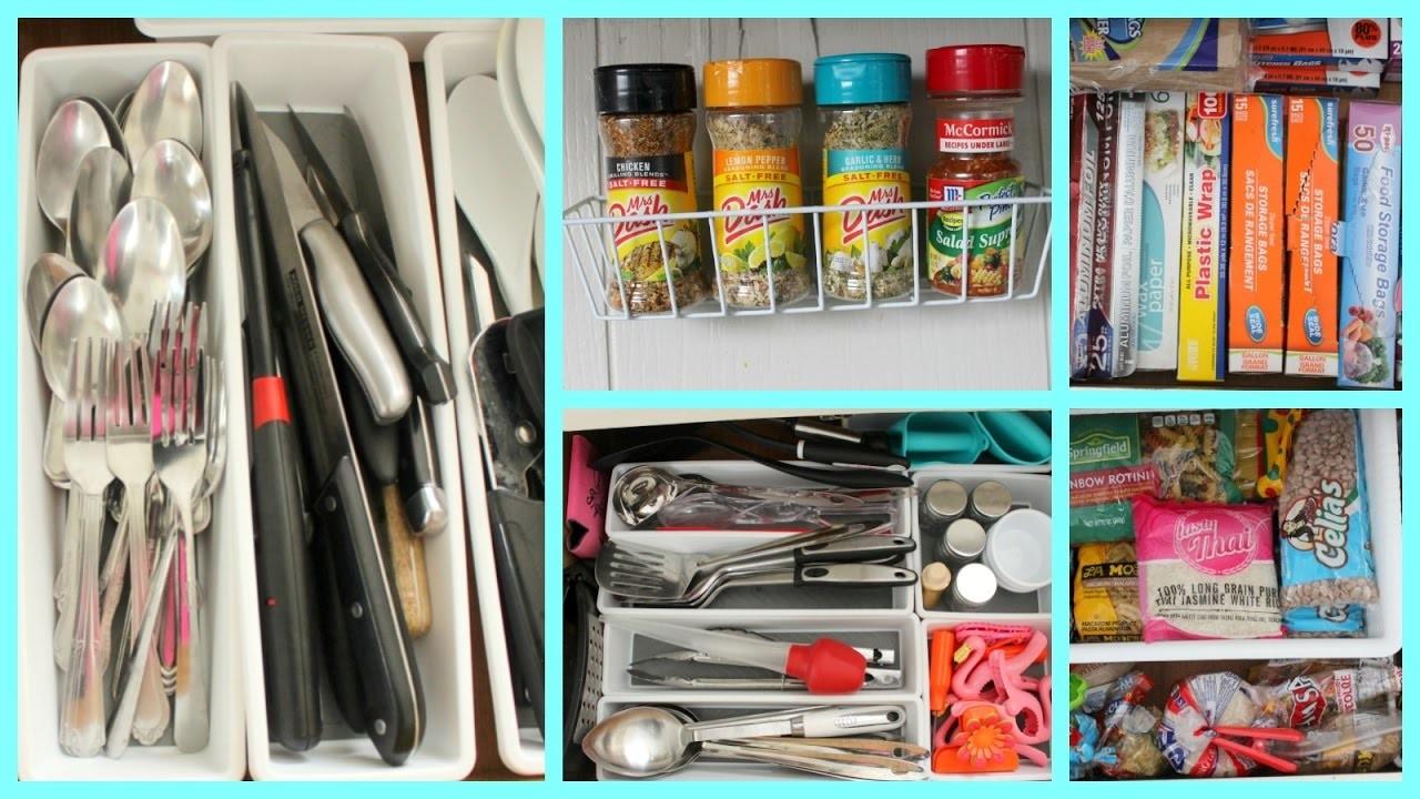 Easy Dollar Store Kitchen Organization Ideas! (PART 2)