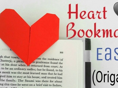 Easy Heart | Love Bookmark - DIY Origami Tutorial by Paper Folds - 718