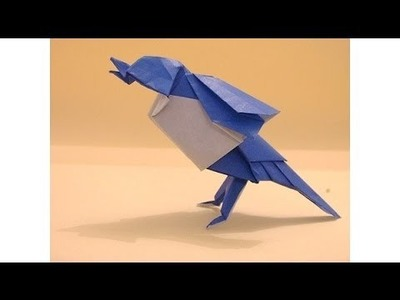 Easy Origami : The Flapping Bird