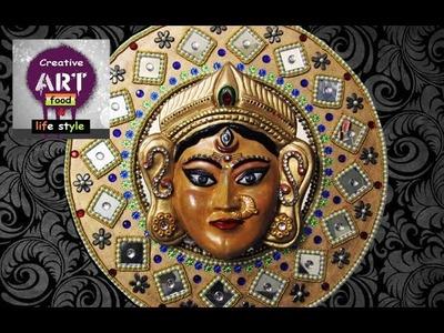 Eco friendly clay art | making of durga maa 2 | Art with Creativity