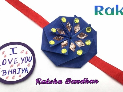 ENVELOPE RAKHI Bracelet for Raksha Bandhan (Design 10)- DIY | Handmade Tutorial by Paper Folds - 734