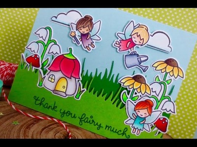 Fairy Friends | Lawn Fawn | Copic Coloring | KW Card Design Video Hop