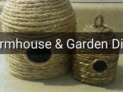Farmhouse & Garden Diy's