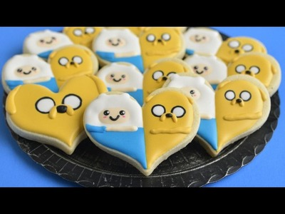FINN AND JAKE ADVENTURE TIME COOKIES, HANIELA'S