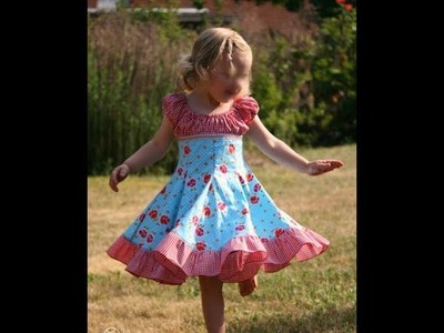 Girls Summer Simple and Stylish Cotton Frock Designs 2017| Baby Dress Designs