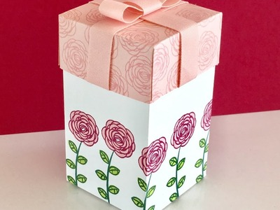 Happy Birthday Gorgeous Gift Box - Video Tutorial with New Stampin' Up products