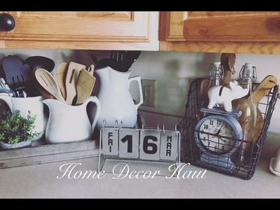 Home Decor Haul + Your Opinion