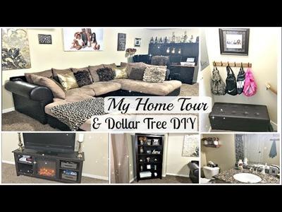Home Tour Pt 2!! DOLLAR TREE DIY | 2017 Townhouse Tour ft SONGMICS