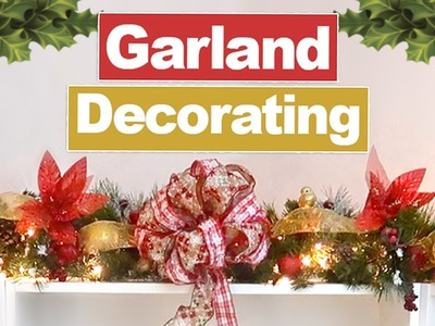 How To Decorate A Winter Garland | ErinRachel