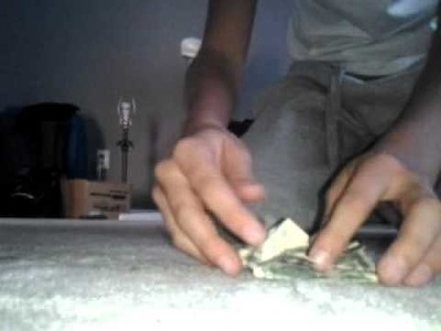 How to make 4 leaf clover out of a few bucks