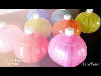 How to make a balloon bottle.