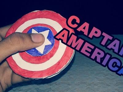 How to make a DIY Captain America Shield Fidget spinner   FIDGET SPINNER   KMA Insane Hacker