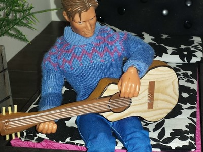 How to make a Doll Guitar