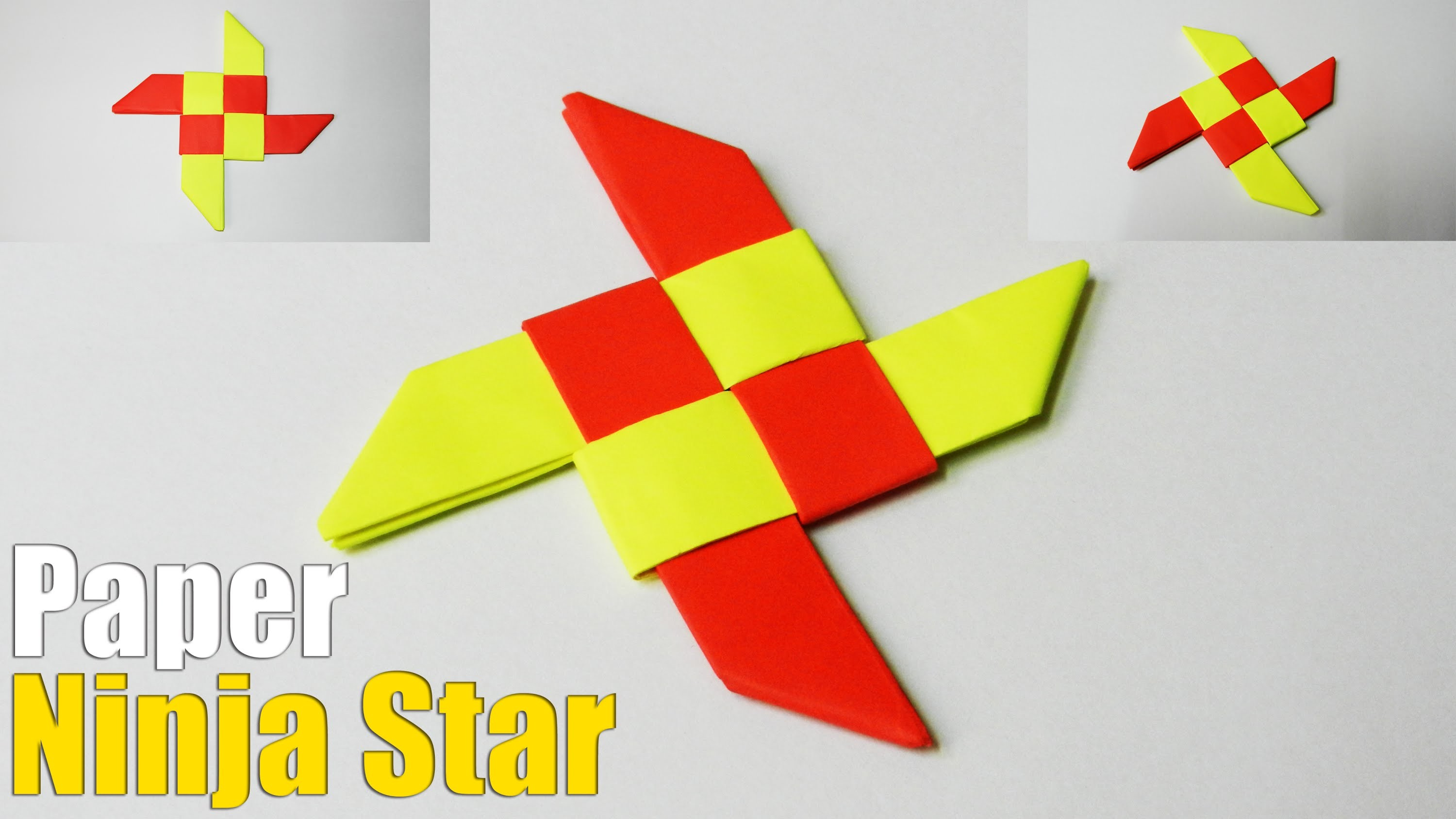 How to make an Origami Ninja Star (Easy Tutorial) - photo#8