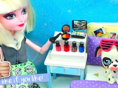 How to make EASY Doll Nail polish