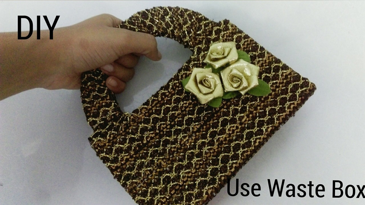 how to make jewellery box from best out of waste