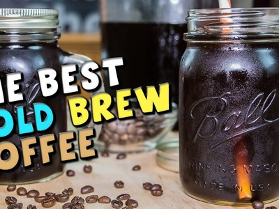 How To Make The BEST Cold Brew Coffee Recipe