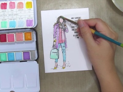How-to: Pastel Watercolor Painting