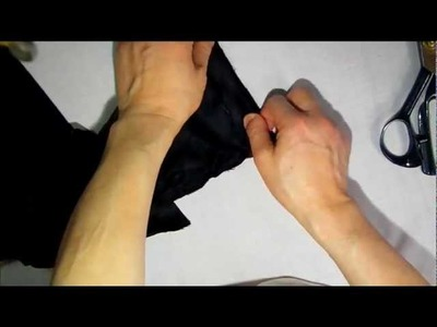 How to shorten sleeves for man Jacket Part2
