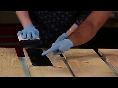 How to Stain Wood - DIY Network