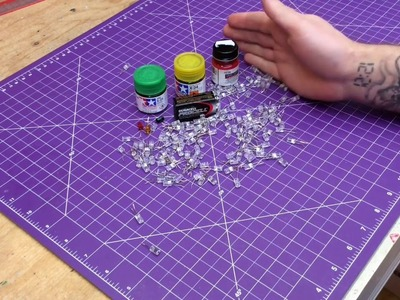 How To Use LED Lights In Your Scale Models