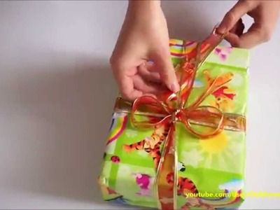 How to Wrap Gift for kids christmas presents - Present Ideas