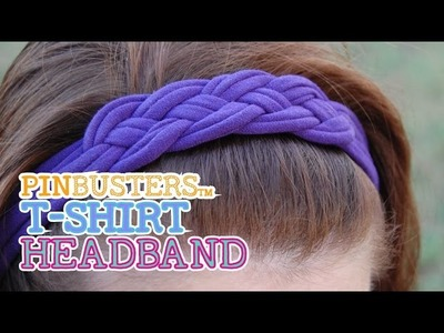 Making A T-Shirt Headband. DOES THIS REALLY WORK?