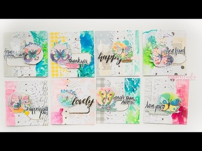 Making Butterfly CARDS