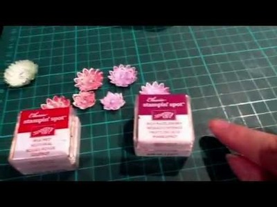 Making little Stampin' Up flowers