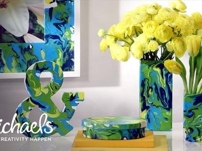 Martha Stewart's Craft Paint: Marbling | Michaels