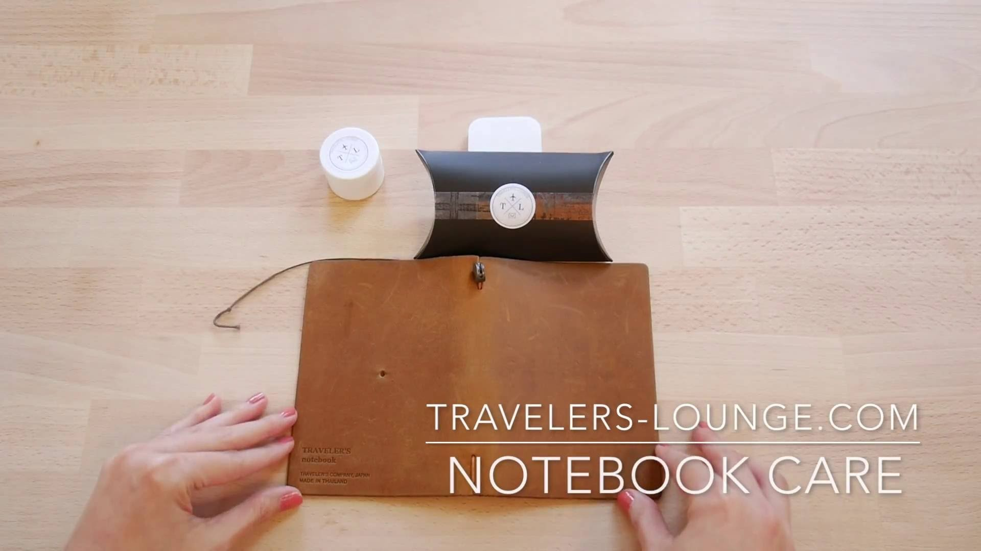 Midori Traveler's Notebook - How To Condition Leather