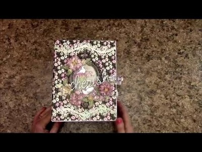 MINI ALBUM TUTORIAL PART 1 HEARTFELT CREATIONS FLOWERING DOGWOOD SHELLIE GEIGLE JS HOBBIES & CRAFTS