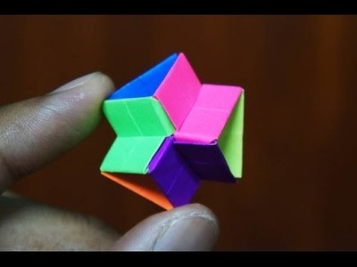 Modular Origami - How to make Modular Hyper Pyramid Origami (Version 1.0)
