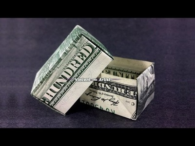 Money Origami GIFT BOX