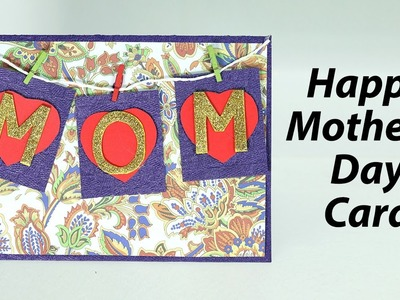 Mother's Day Card - Easy Homemade Greeting Card for Mom