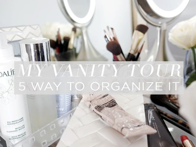 My Vanity Tour and Organization | Chriselle Lim