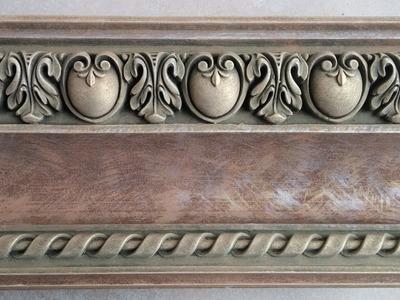Нow to paint beautiful cornice moldings (subtitles to be included!) #cornice #molding