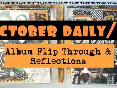 OCTOBER DAILY 2015. Complete Album Flip Through & Reflections | Serena Bee
