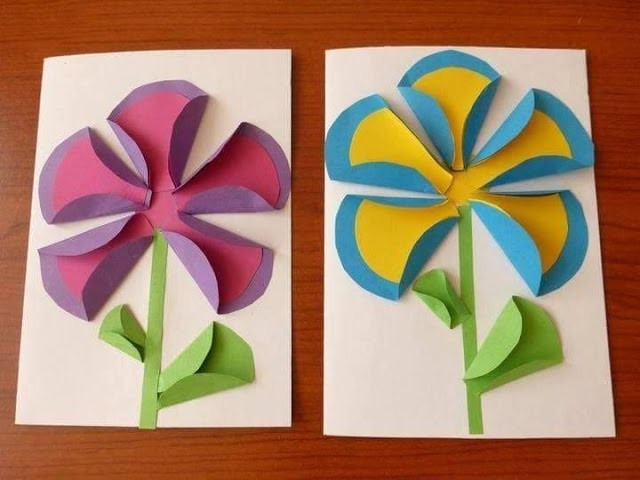 One  Folded Paper Activities Images For Kids - Fun Kids Activites Images