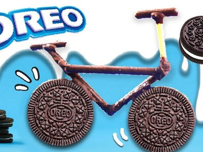 OREO cookies BICYCLE! * Cómo hacer una BICICLETA con OREO! ✅  Top Tips and Tricks in 1 minute