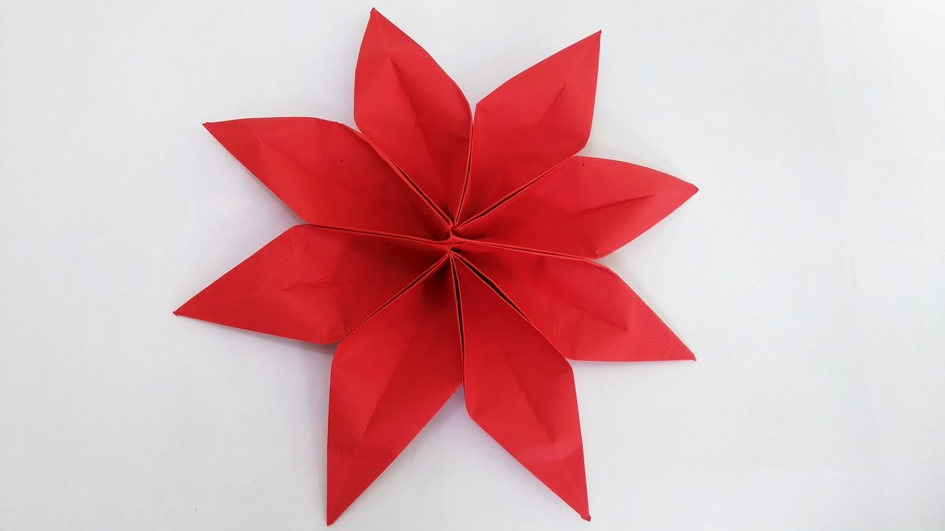 How To Make An Origami 5 Petal Flower 9 Steps Psychologyarticlesfo