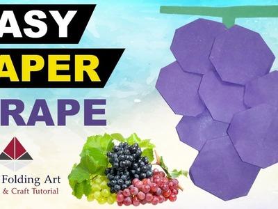Origami Grapes-Origami Grapefruit Making Technique-Paper Folding Grape Origami-Paper Folding Art