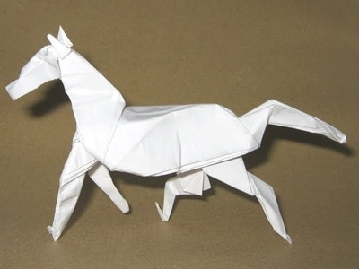 Origami Horse by David Brill (Part 3 of 4)