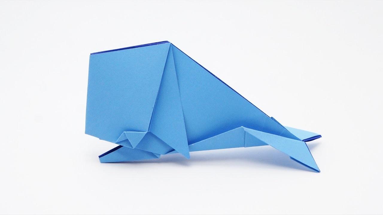 origami whale jo nakashima