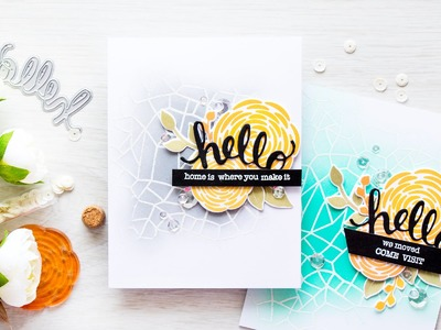Partial Background Heat Embossing and More Tips