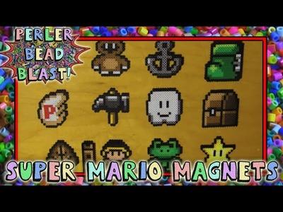 Perler Bead Blast - Super Mario Magnets
